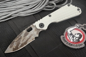 Exclusive Strider SNG GG Arctic Grey Digicam Folding Knife