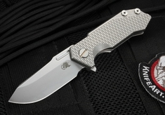 Rick Hinderer Half Track Flipper Folding Knife
