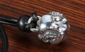 Hidetoshi Nakayama Small Silver Octopus Necklace Pendant - Polished