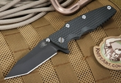 "Rick Hinderer 3.5"" Eklipse Black DLC Folding Knife"