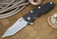 "Rick Hinderer Eklipse 3.5"" Black Tactical Folding Knife"