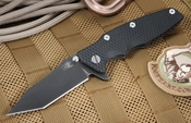 "Rick Hinderer 3.5"" Eklipse - Blackwash and Copper Folder"
