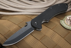 Emerson Journeyman BT Black Blade Folding Knife