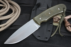 KnifeArt.com Everyman Fixed Blade - Green