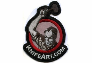 KnifeArt.com Morale Patch - Black