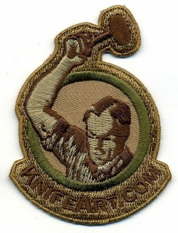 KnifeArt.com Morale Patch - Desert