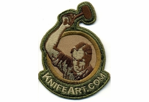 KnifeArt.com Morale Patch - Multicamo