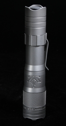 LensLight KO Titanium Flashlight w Dual Output