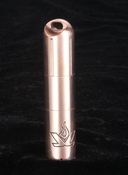 LensLight Micro Copper LED Flashlight