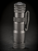 LensLight Mini Black Aluminium - Dual Output LED Flashlight