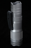 LensLight Mini Titanium Flashlight w Dual Output