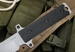 Les George M 12 Tactical Fixed Blade Knife