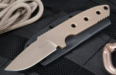 Les George VECP Flat Dark Earth Tactical Fixed Blade Knife - SOLD