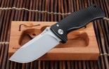 Lion Steel SR-1 Integral Black Aluminium Tactical Folding Knife