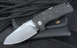Lion Steel TM1 Carbon Fiber Lockback Folding Knife