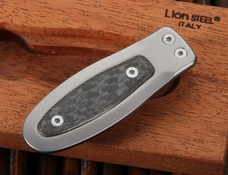 LionSteel Money Clip - Carbon Fiber and Titanium Money Clip Wallet