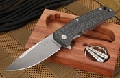 LionSteel TRE Carbon Fiber - Three Rapid Exchange -  with M390 Steel