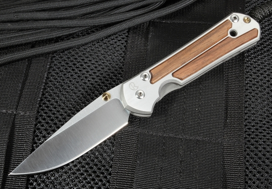 Chris Reeve Small Sebenza 21 Macassar Ebony with S35VN Steel