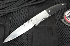 Mel Pardue Custom Buffalo Horn Dress Folder