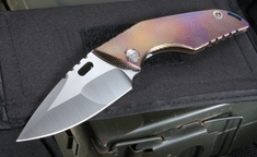 Mick Strider Custom SJ75 Full Size Folding Knife - SOLD