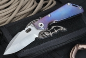 Mick Strider Custom SNG CC Harpoon Grind Stellite 6K Folder