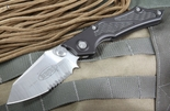 Microtech SF Serrated  Manual Folding Knife - SOLD