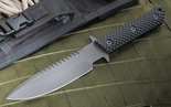 Strider MT-SS-GG Black on Black Tactical Fixed Blade