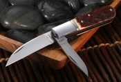 """Old Barlow Pattern"" Hiroaki Ohta Two Blade Stag Folding Knife - SOLD"