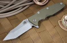 "Rick Hinderer 3.5"" Eklipse OD Green Tactical Folder"