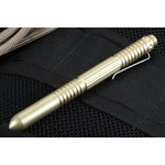 Rick Hinderer Extreme Duty Pen - Brass - Tactical Pen