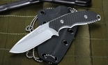 Rick Hinderer Flashpoint Black Neck Knife - SOLD