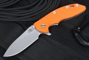 "Rick Hinderer Gen 4 XM-18 3.5"" Slicer Orange G-10 Folding Knife"