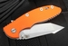 "Rick Hinderer XM-18 3.5"" FATTY Edition Harpoon - ORANGE"