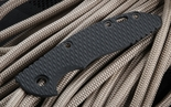 "Rick Hinderer XM-18 3.5"" or XM-24 Textured Black G-10 Handle Scale"