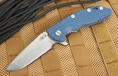 "Rick Hinderer XM-18 3.5"" Spanto - Blue and Battle Blue"