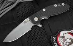 "Rick Hinderer XM-18 3"" Black Spearpoint Tactical Folder"