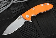"Rick Hinderer XM-18 3"" Spearpoint Flipper  - Orange"