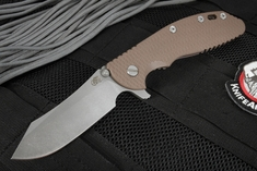 Rick Hinderer XM-24 Skinner - Battle Bronze and Brown G-10
