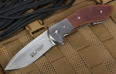 Scot Matsuoka Kala Micarta Tactical Folding Knife