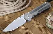 Chris Reeve Sebenza 25 Micarta Inlay Folding Knife with S35VN Steel