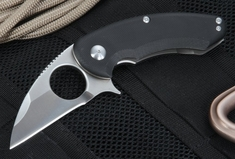 "Brous Blades Silent Soldier Flipper 2.5"" - Satin Finish D2 Steel"