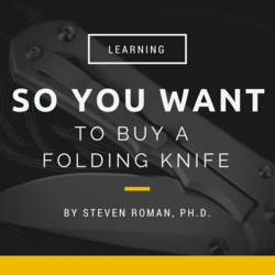 So you want to buy a folding knife?