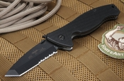 Emerson SOCFKB-BTS Partial Serrations Tactical Folder