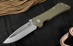 Southern Grind Bad Monkey - OD Green G10 - Satin Drop Point