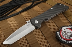 Southern Grind - Bad Monkey Tanto - Satin and Carbon Fiber