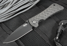 Southern Grind Spider Monkey - Drop Point Carbon Fiber - Black PVD