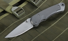 Spartan Blades Akribis Carbon Fiber Folding Knife with S35VN Steel
