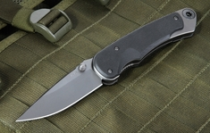 Spartan Blades Akribis Black G10 Folding Knife with S35VN Steel