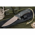 Spartan Blades Harsey Hunter - Flat Dark Earth and Black