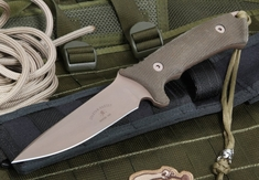 Spartan Blades Harsey Hunter - Flat Dark Earth and Green